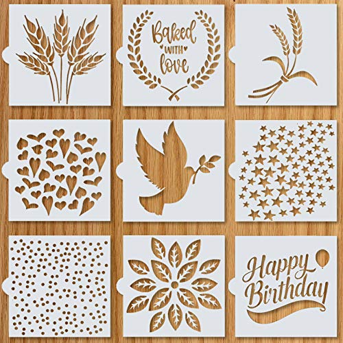 """Artisan Bread Stencils 
