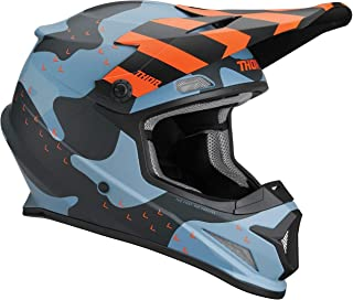 Thor Sector Mosser Motocross Helm Blau/Orange M 57/58