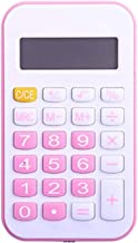 Z-Color Mini Portable Calculator, 8-Digit Battery Office Calculator with Large LCD Display Big Sensitive Button (Color : P... photo