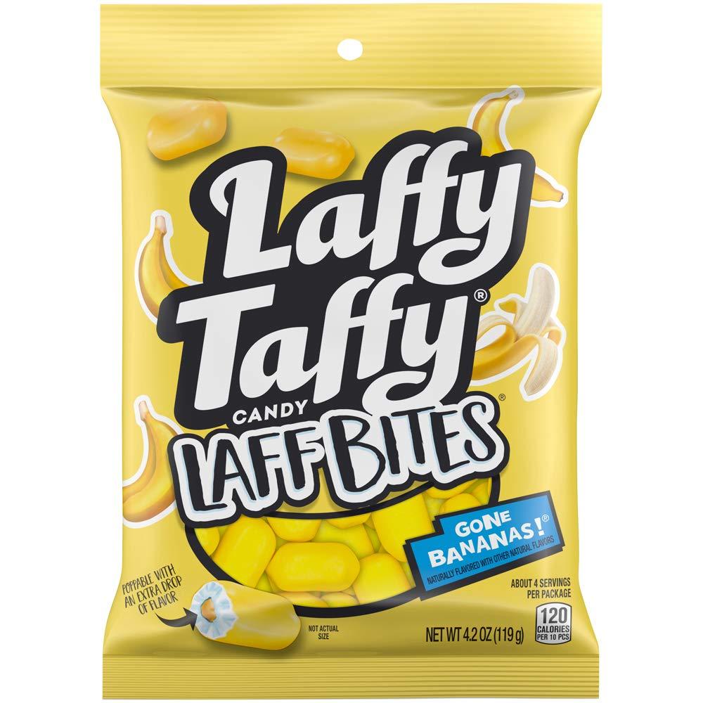 Laffy Taffy Laff Bites Gone Bananas, 4.2 oz