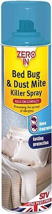 Zero In ZER968 300 ml Bed Bug Killer Spray Treatment for Sleeping Areas