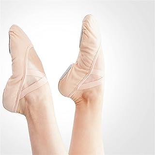 ZBYD Ballet Chaussures Filles Enfants Ballerina Pratique Dance Chaussures Toile Femme Ballet Pantoufles Soft Ballet Chauss...
