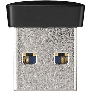 BUFFALO USB3.0対応 マイクロUSBメモリー 32GB ブラック RUF3-PS32G-BK