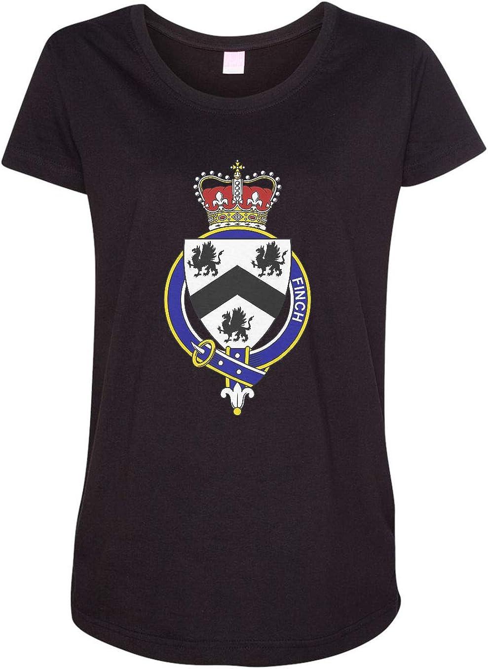 HARD EDGE DESIGN Women's English Garter Family Finch T-Shirt