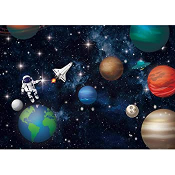 12 Count Fun Express Space Party Favor Boxes Great for Outer Space and Galaxy-Themed Parties