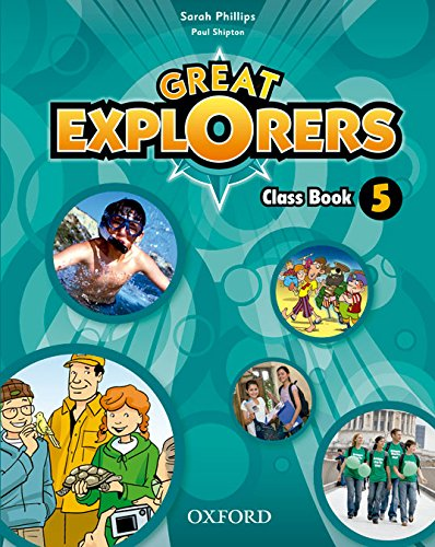 Great Explorers 5. Class Book - Revised Edition - 9780194820493