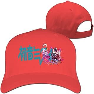 BODAP Hatsune Miku Logo Adjustable Baseball Cap