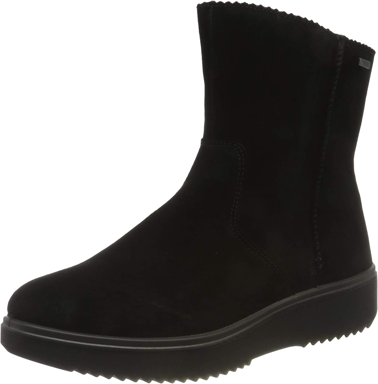 Legero Women's Camino Snow Boot, Schwarz 0000, 8.5