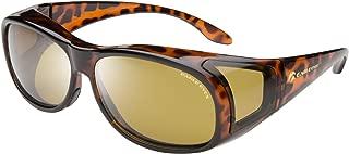 Polarized Fiton Sleek Fitover-style Sunglasses - UVA, UVB and Blue Light Blocking Protection