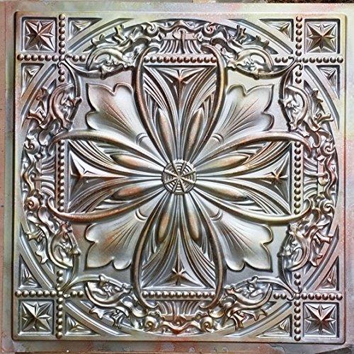 PL10 in latta con pittura 3D per piastrelle da soffitto, in metallo con fondo photosgraphie 10pieces parete/decorazione per confezione