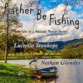 Rather Be Fishing audiobook cover art