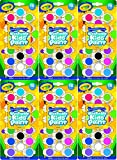 Crayola Washable Kid's Paint Assorted Colors 18 Each (Pack of 6)