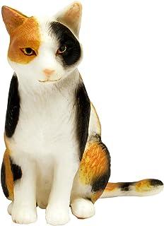 プラッツ 1/12 和ねこ 三毛猫 (座り) 彩色済み動物フィギュア WNK-5