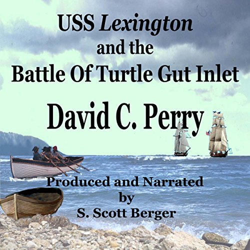 USS Lexington and the Battle of Turtle Gut Inlet  audiobook cover art