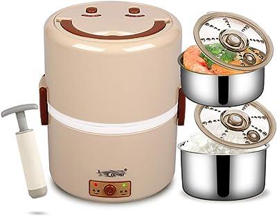 食品ボトル真空断熱漏れ防止スープ8時間加熱24時間冷たいかわいい学生ステンレス鋼の食品ボトルは1.2リットル加熱することができます (Color : BEIGE, Size : 15CM*19CM)