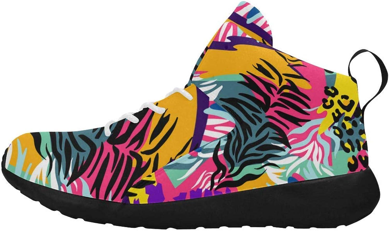 InterestPrint Women's Basketball shoes Lightweight Casual Comfort Sports Running shoes