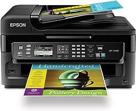 Epson WorkForce  All-In-One Wireless Color Inkjet Printer WF-2540, Black