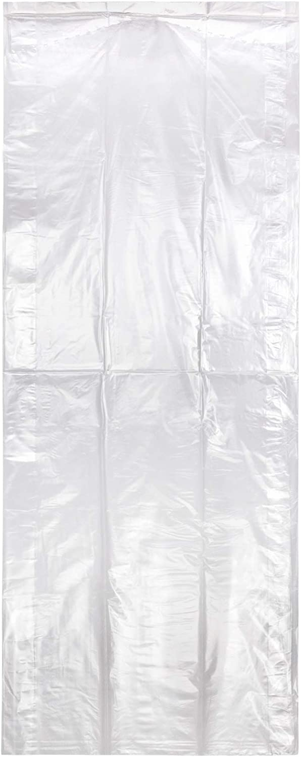 Special Cash special price sale item Hangerworld 20 Clear 54inch Dry Laundry Gar Cleaning Polythylene