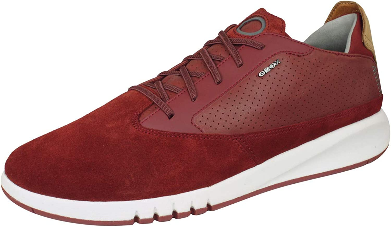 Geox U Aerantis A Mens Leather Sneakers shoes