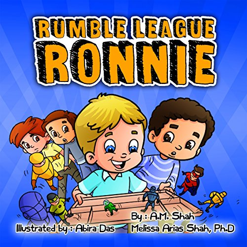 Rumble League Ronnie audiobook cover art