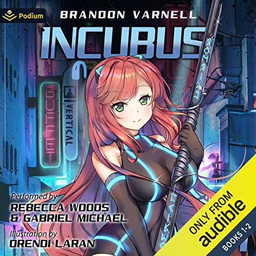 Incubus: Publisher's Pack Audiobook By Brandon Varnell cover art