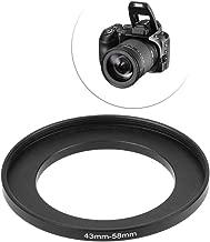 Ranuw 43mm 58mm Metal Step Rings Lens Adapter Filter Camera Tool Accessories New