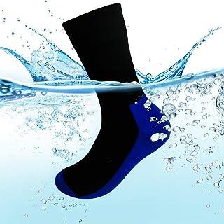 Calcetines impermeables de hasta el tobillo, transpirables, para ciclismo, senderismo, senderismo, esquí, calzado, para hombres y mujeres