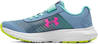 Under Armour Girls' Pre School Rave 2 Print Alternate Closure Sneaker,