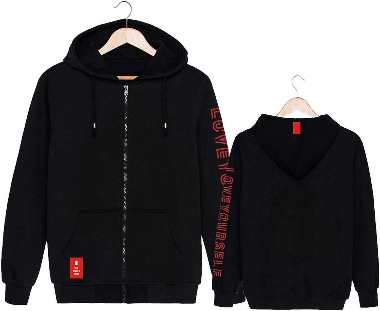 BTS New Album Love Yourself  Men/'s Hoodies Sweatshirts Pullover Adult Tops Coat