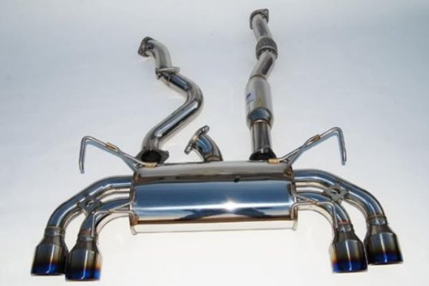 Invidia Reservation HS07MCSGTP Max 90% OFF Q300 Cat-Back System with Stainless Exhaust