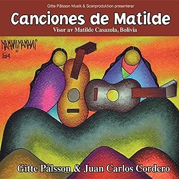 Canciones de Matilde - Visor av Matilde Casazola