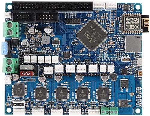 Auoeer Duet 2 WiFi V1.04 Upgrades Controller Board Controned Duetwifi Erweitertes 32-Bit-Motherboard für 3D-Drucker-CNC-Maschinentreiber-Tafel