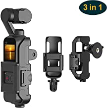 3 in 1 Tripod and Action GoPro Mount Stand Bracket for DJI Osmo Pocket, Action Cam Mount with Tripod Mount Adapter and Screw Adapter, DJI Osmo Pocket Accessories Kit Connect to Tripod and GoPro