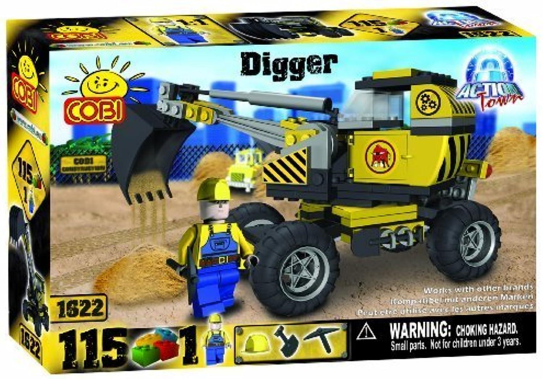 COBI Action Town Construction Digger, 115 Piece Set by COBI B015YS4CJ2  Modisch | Zart