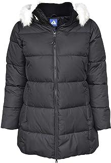 Snow Country Outerwear Women's Plus Size Chelsea Down Alternative Parka Coat Jacket