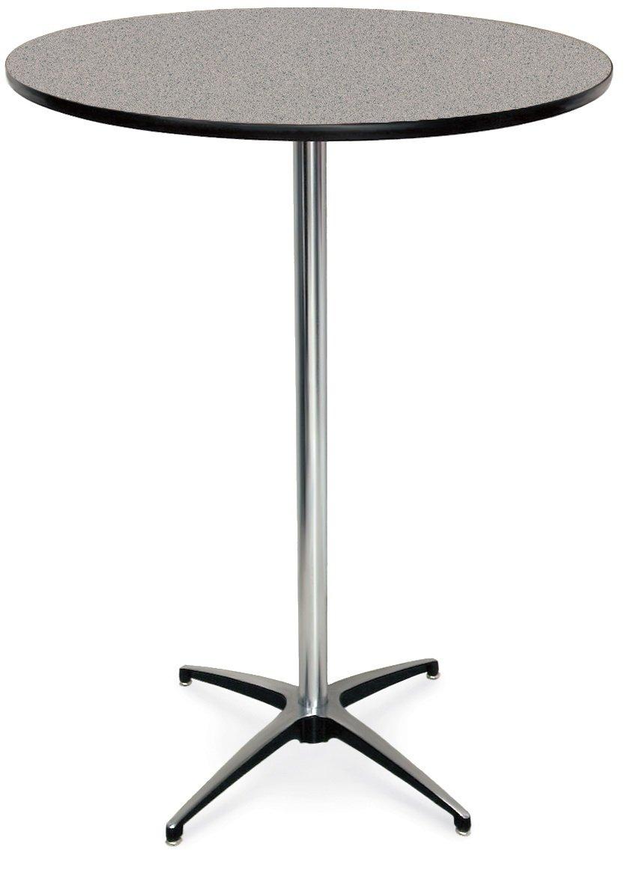 McCourt 72012HLGG List price Laminate Pedestal Table Diameter Max 77% OFF 42