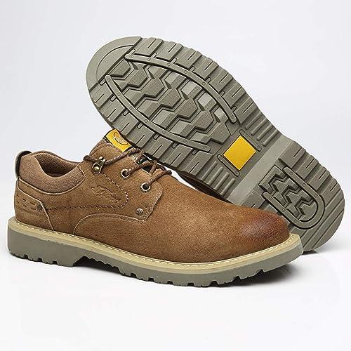 XHD-Men's zapatos Cómodo de los hombres Ocio Conducción Mocasín Suela de Goma Excelente Piel de cocodrilo Blando Texure talón Ola Plana Suela Mocasines Zapaños