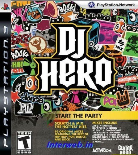 DJ Hero - Game Only (PS3) by ACTIVISION
