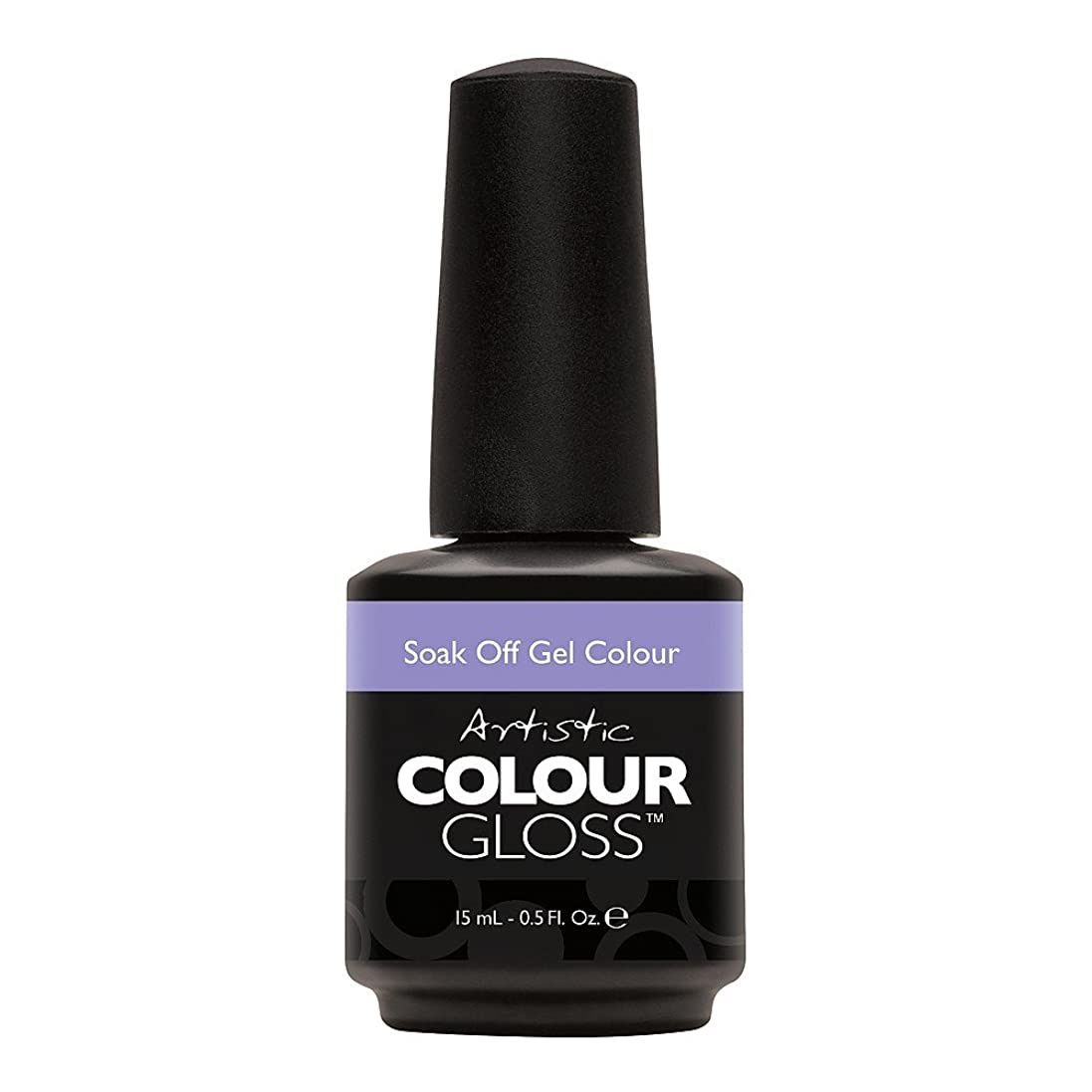 地震システム国内のArtistic Colour Gloss - Aim to Chill - 0.5oz/15ml