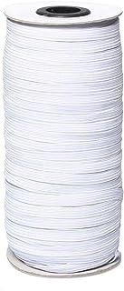 Bobina de Goma Elástica Blanco Cuerda Elástica Cordón El