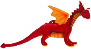"""Pack of 4 Life-Like Handcrafted Extra Soft Plush Baby Red Dragon Stuffed Animal 11.75"""""""