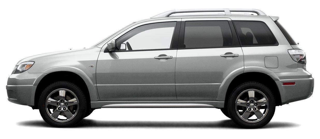 2006 Mitsubishi Outlander LS, 4-Door All Wheel Drive Manual Transmission ...