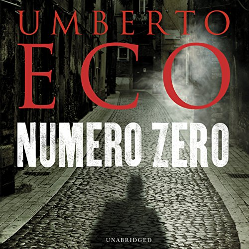 Numero Zero audiobook cover art