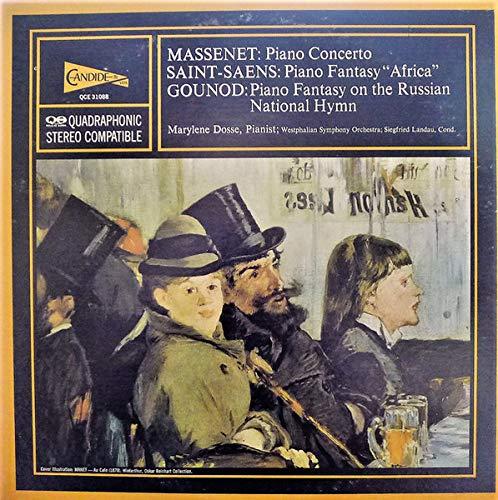 Jules Massenet / Camille Saint-Saëns / Charles Gounod - Marylene Dosse ; Westfälisches Sinfonieorchester ; Siegfried Landau - Piano Concerto / Piano Fantasy