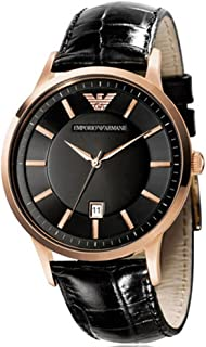 Emporio Armani Casual Watch For Women Analog Leather - AR9022