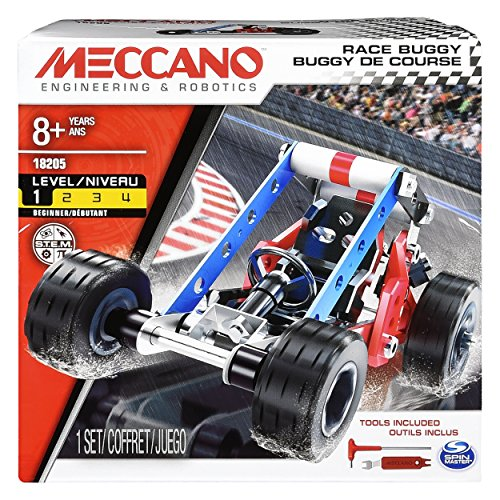 Meccano - 6043089 - Jeu de Construction - Buggy de Course