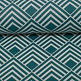 Swafing Beschichtete Baumwolle/Leona/grafisches Muster,