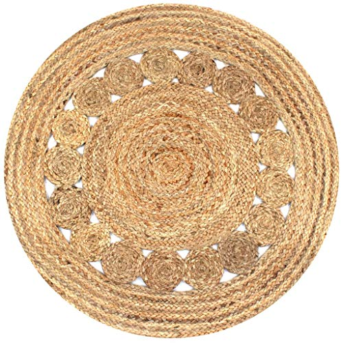 Alfombras Redondas Yute alfombras redondas  Marca vidaXL