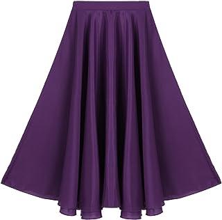 82fe115a83d70 Amazon.com: girls long purple skirt