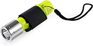 SYNC ダイビングライト Cree XM-L2 水中ライト 水中懐中電灯 防水 ハンドストラップ 防災 防犯 地震対策 単4電池